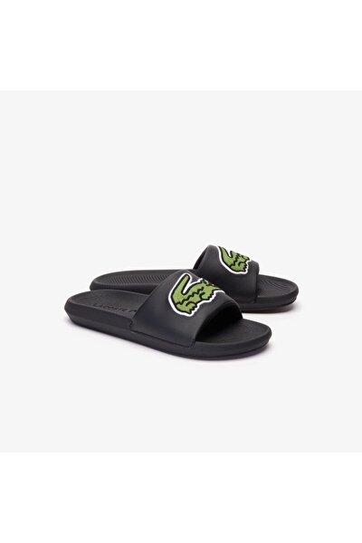 Croco Slide 319 4 Us Cma Erkek Siyah - Yeşil Terlik