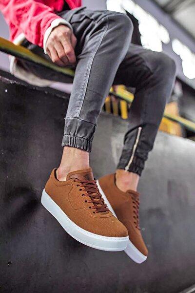 Günlük Taba Süet Erkek Sneaker