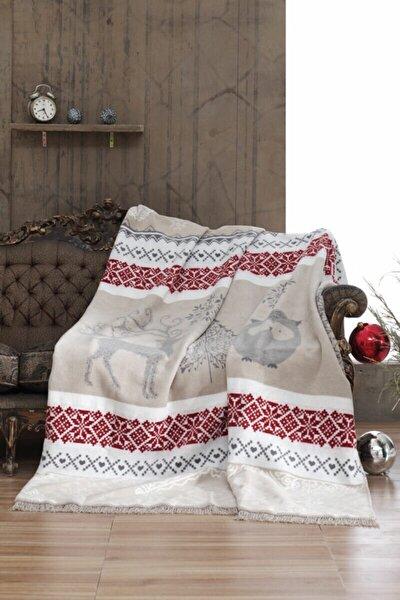 Winter Wishes Tek Kişilik Pamuklu Battaniye 150x200