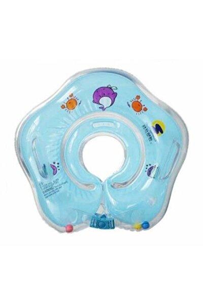 Bebek Yüzme Boyun Simidi Emniyet Kilitli - 1609004