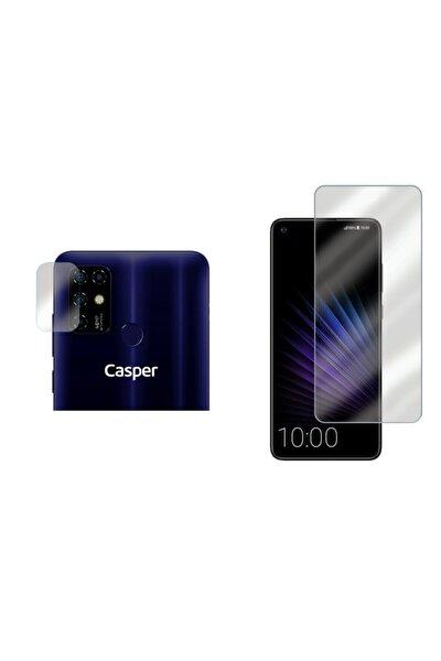 Casper Vıa F20 Nano Cam Kırılmaz Ekran Koruyucu + Kamera Koruyucu