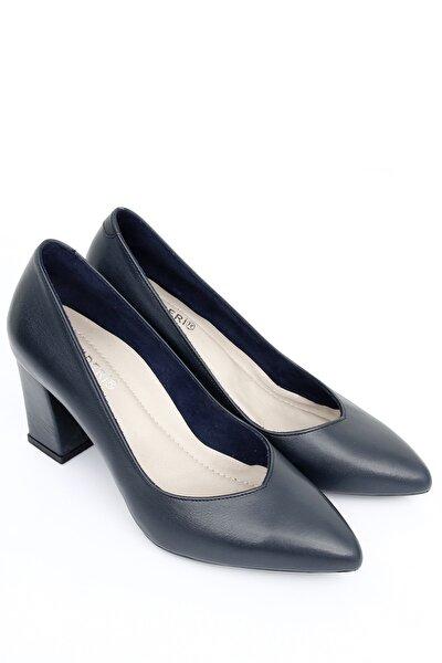 Hakiki Deri Kadın Topuklu Ayakkabı 24171