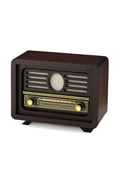 Yeni Sezon Nostaljik Ahşap Radyo Üsküdar Model Retro Radyo