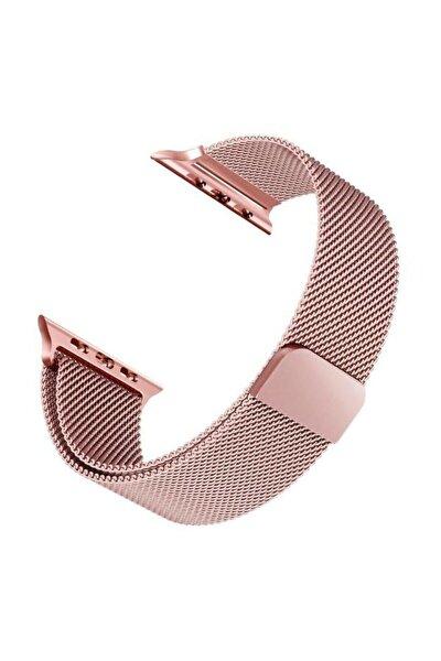Apple Watch 42mm/44mm Milanese Loop Kordon Rose Gold