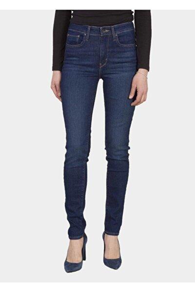 721 Kadın Yüksek Bel Jean Pantolon 18882-0330