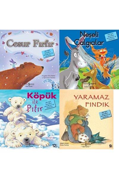 3-4-5 Yaş Ilk Okuma Kitapları Seti 4 Kitap Köpük Ile Pıtır-cesur Fırfır-neşeli Çalgıcılar