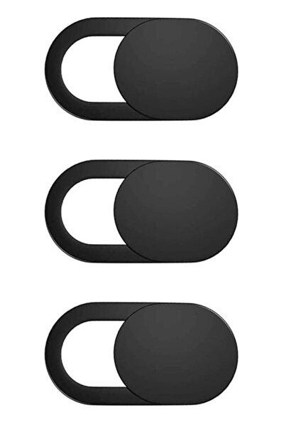 Laptop Tablet Kamera Webcam Kapatıcı Örtücü Sürgülü Kapak 3'lü