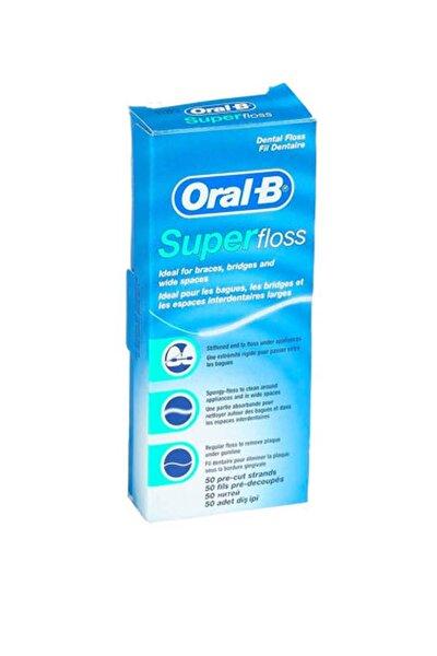 Süper Floss Diş Ipi  1 Adet