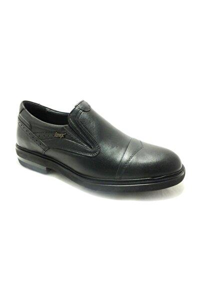 Bağcıksız Hakiki Deri Erkek Ayakkabısı Siyah 57 2987