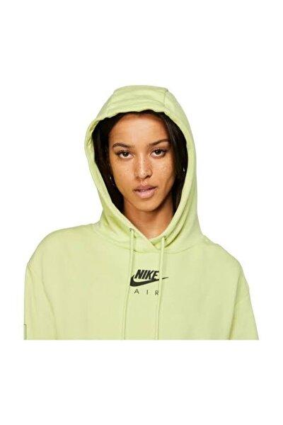 Kadın Spor Sweatshirt - W NSW AIR HOODIE FLC BB - CJ3082-367