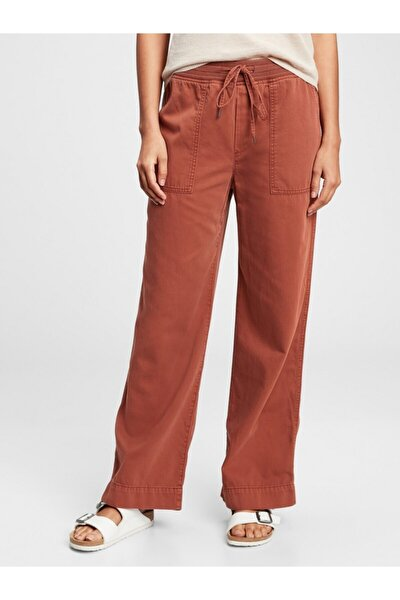 Fitilli Wide-leg Pull-on Pantolon
