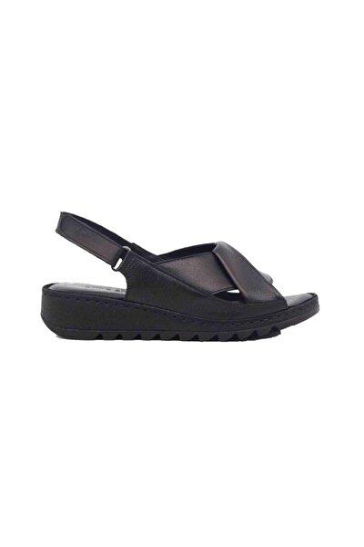 Hakiki Deri Kadın Sandalet M018