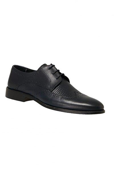 Erkek Lacivert Klasik Ayakkabı