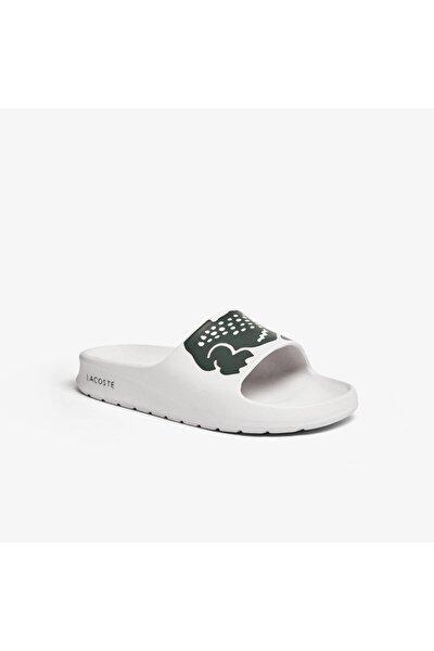 Croco 2.0 0721 1 Cfa Kadın Beyaz - Koyu Yeşil Terlik