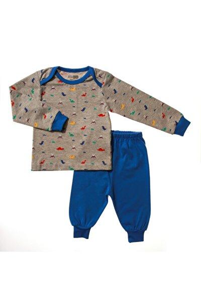 Basic Erkek Bebek Pijama Takımı