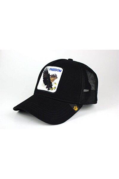 Figürlü Freedom Model Kartal Hayvanlı Şapka