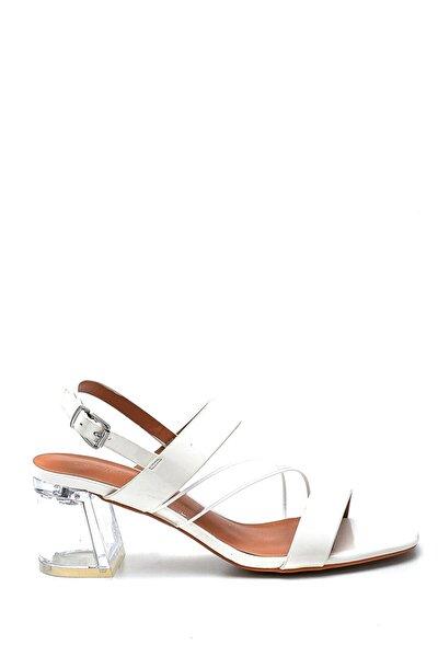 Kadın Casual Şeffaf Topuklu Sandalet