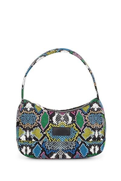 Kadın Karışık Renkli Baguette Çanta 197