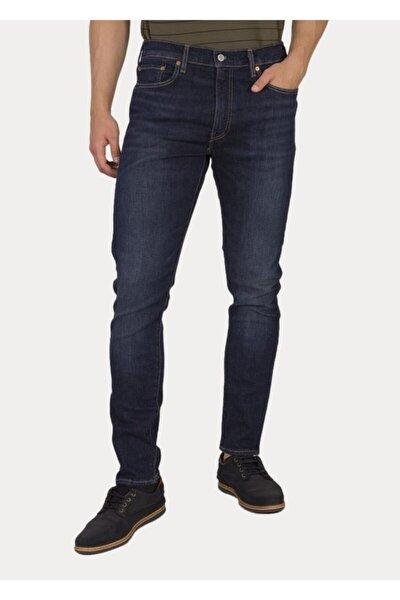 Erkek Lacivert Slim Taper Jeans 28833-0633