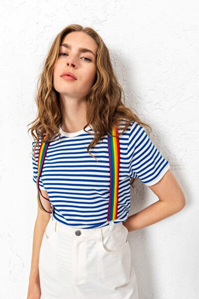 Grace- Jane Striped Çizgili T-shirt