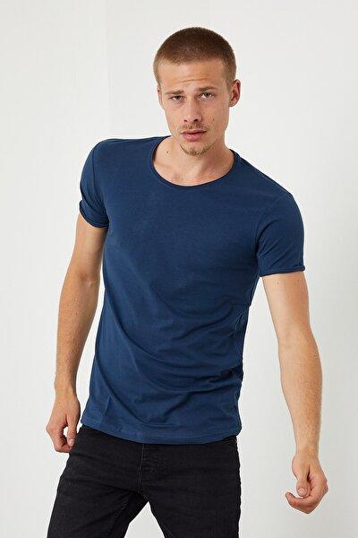 Kısa Kollu Düz Renk T-shirt