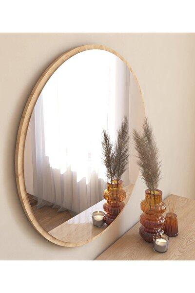 Yuvarlak Dekoratif Natural Ayna