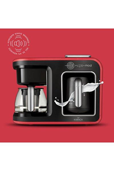 Hatır Plus Mod 5 In 1 Çay Ve Kahve Makinesi Kırmızı