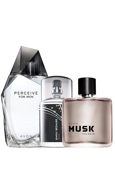 Perceive Simply Because Ve Musk Vulcain Edt 50 Ml Erkek Parfüm Paketi