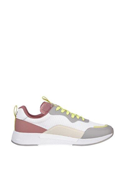 Kadın Gri Sneaker Technical Detail Runner EN0EN01360