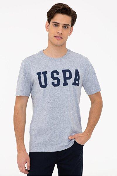 Grı Erkek T-Shirt