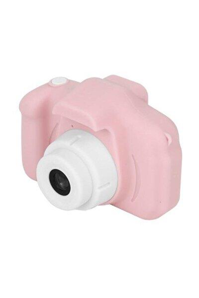 Kız Çocuk Pembe Cmr9 Çocuklar Için Mini Hd 1080p Dijital Fotoğraf Makinesi