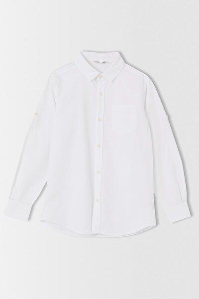 Erkek Çocuk Basic Uzun Kollu Gömlek V1050A621HSW