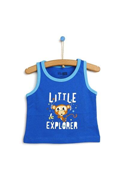 Basic Erkek Bebek Atlet T-shirt