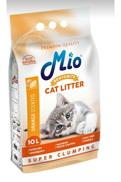 Mio Bentotite Cat Litter Portakallı 10 Litre Kedi Kumu