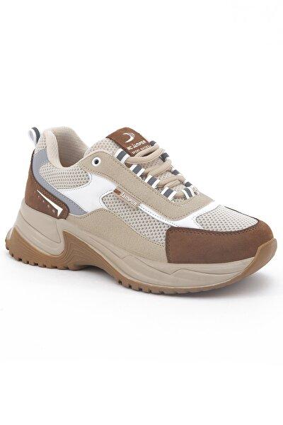 1865 Kadın Taba Sneaker Yürüyüş Ayakkabı