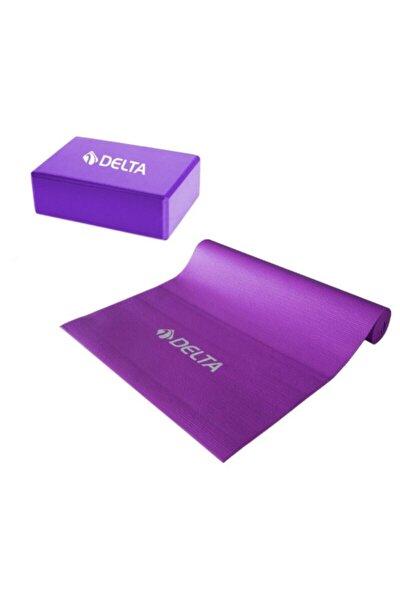 4 Mm Yoga Matı - Pilates Minderi Ve Yoga Blok Yoga Köpüğü
