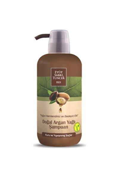 Doğal Argan Yağlı Şampuan 600 ml Pet Şişe