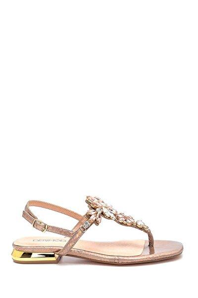 Kadın Casual Taş Detaylı Sandalet