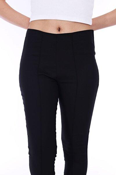 Kadın Siyah Tayt Pantolon