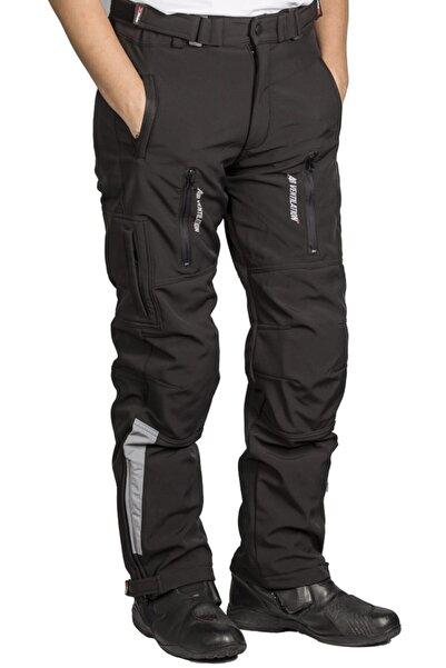 Motosiklet 4 Mevsim Ce Sertifikalı Korumalı Pantolon Softjel Kumaş Full Koruma Motor Pantolonu