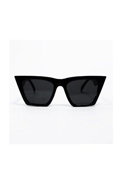 Kadın Köşeli Siyah Gözlük