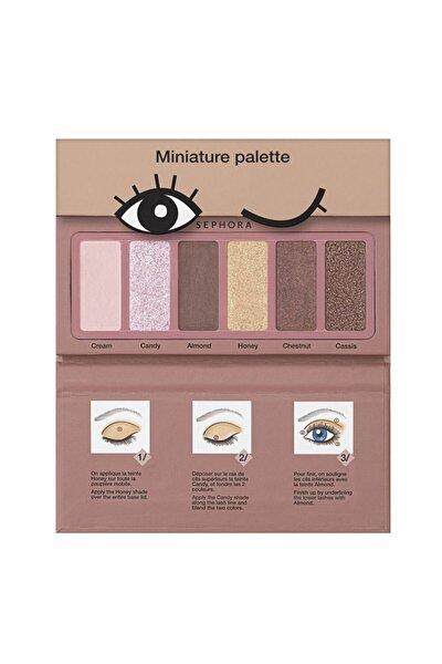 Miniature Pallette Donut - 6 Renkli Far Paleti