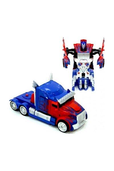 Tek Tuşla Robota Dönüşen Optimus Prime Tır Robot