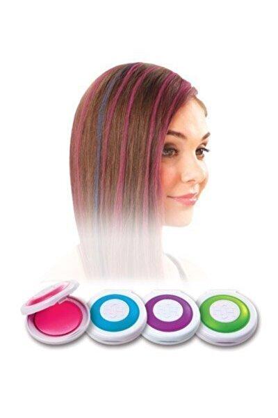 4 Renk Geçici Saç Tebeşir Seti 714662