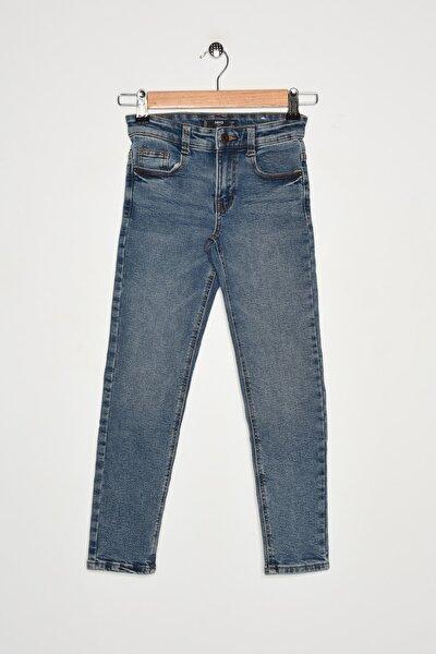 Erkek Çocuk Donuk Mavi Pantolon 67980579