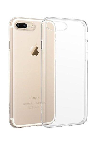 Iphone 7 Plus ve Iphone 8 Plus Uyumlu Şeffaf Silikon Kılıf