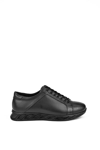 Erkek Siyah Hakiki Deri Ayakkabı 103415 455082