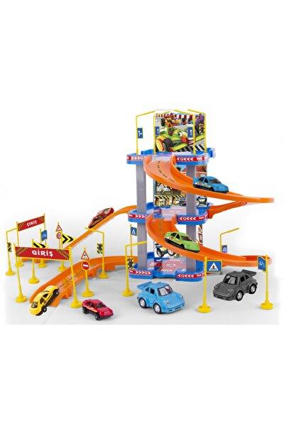 Günün Fırsatı Parking Garage Play Set 3 Katlı Oyuncak Otopark Garaj Seti 2 Araç Dahil Aksesuarlı