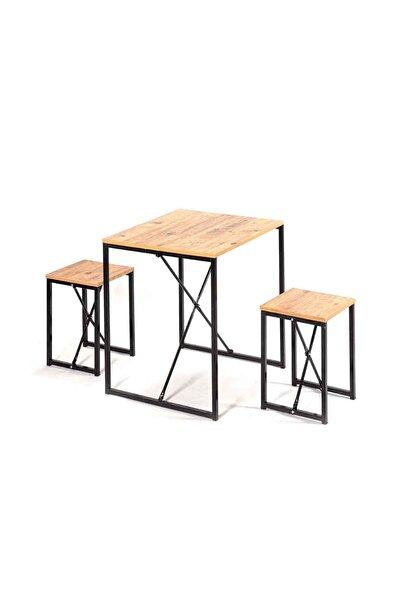 Mutfak Sandalyesi Mutfak Masa Takımı 2 Kişilik 5156