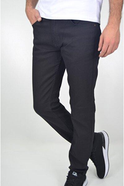 Erkek Siyah Likralı Kot Pantolonu